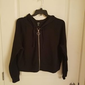 Wild Fable Juniors XXL Cropped Hoodie NWOT